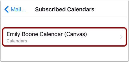 Open Canvas Calendar