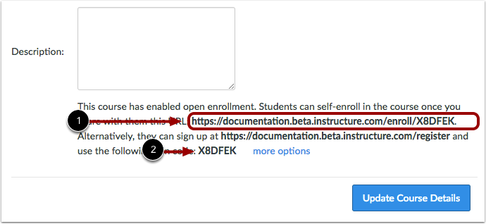 View Self-Enrollment Details