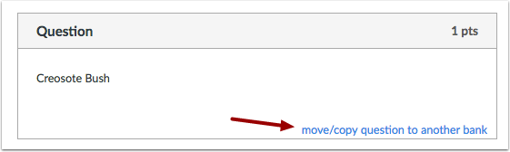Move/Copy Questions to Another Bank