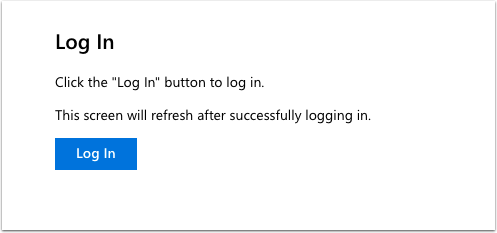 Log in to Office 365