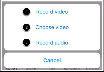 Choose Media Type
