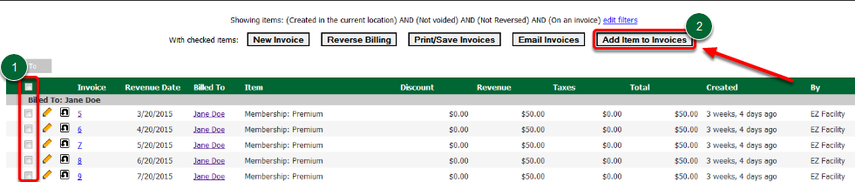 Print/Save Invoices