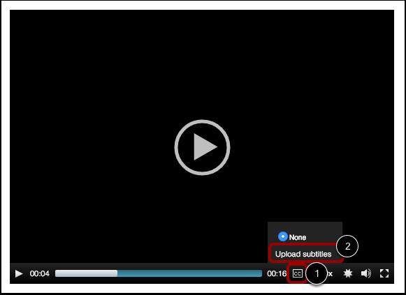Upload Subtitles