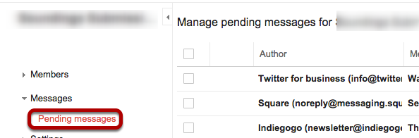 I expected to see a message come through, but haven't seen it in my mailbox. Where is it?