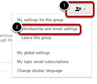 View Messages in Group, Not Inbox