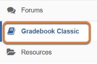 Gradebook Classic link