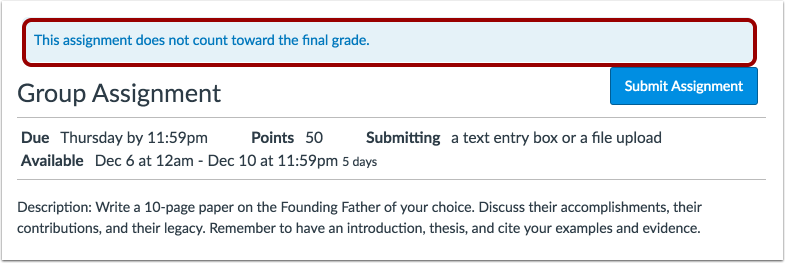 View Final Grade Notice