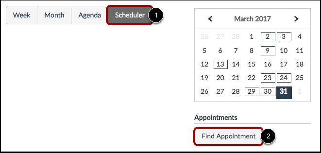 View Scheduler