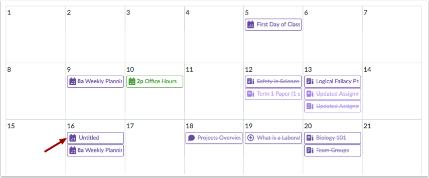 View All-Day Events