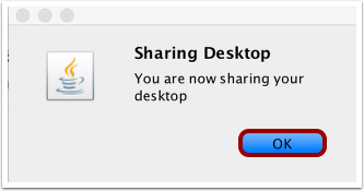 Confirm Sharing