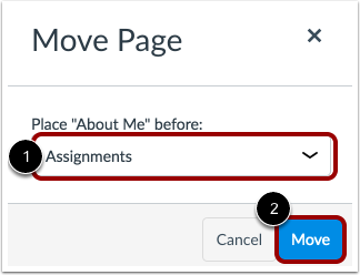 Move Page