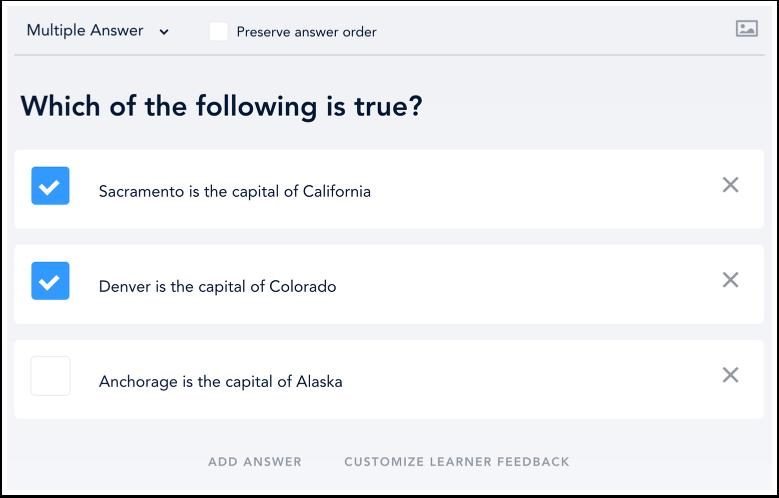 Questionnaire à réponses multiples