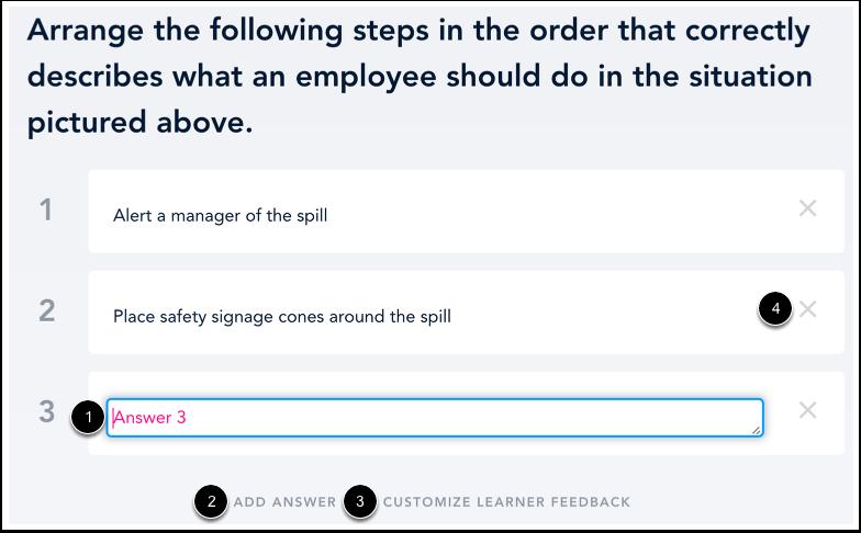 Ajouter des réponses