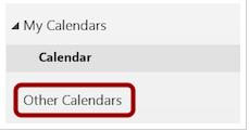 Abrir otros calendarios