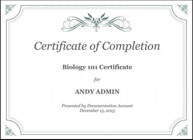 Add Certificates