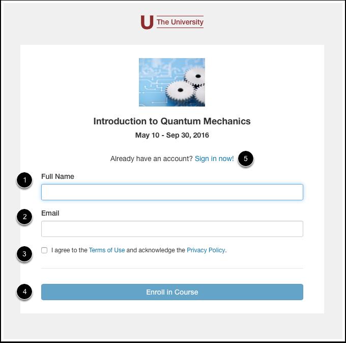 Complete Enrollment Information