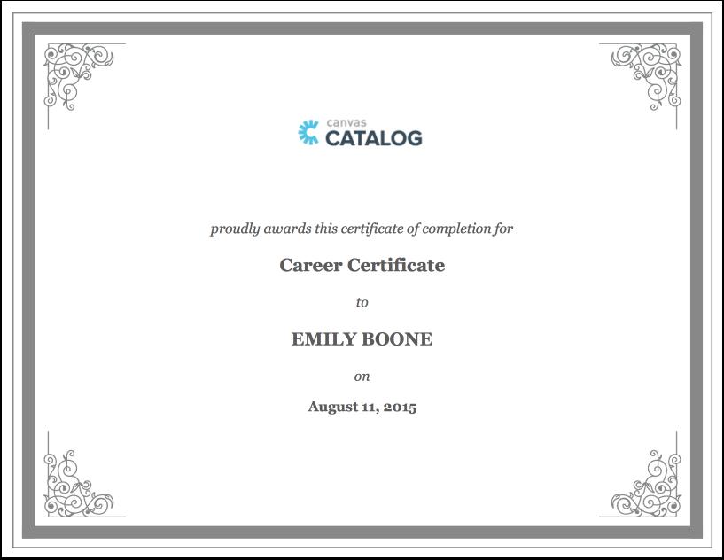Add HTML/CSS Certificates