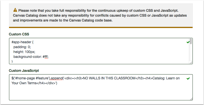 Add CSS/JavaScript