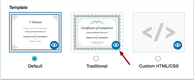 Preview Certificate