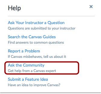 Preguntar a la comunidad (no estudiantes)