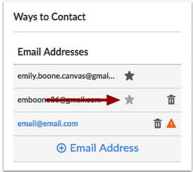 Escoger dirección de correo electrónico predeterminada