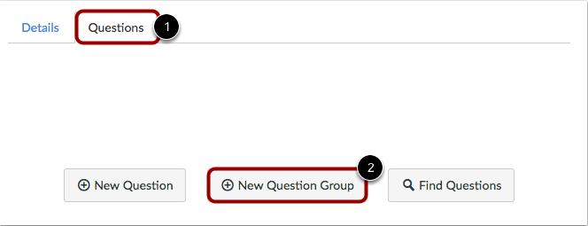 Agregar nuevo grupo de preguntas