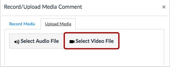 Seleccionar archivo de video
