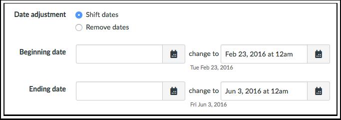 Ajustar Datas de Eventos e Datas de Entrega
