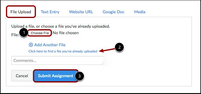 Enviar una carga de archivos