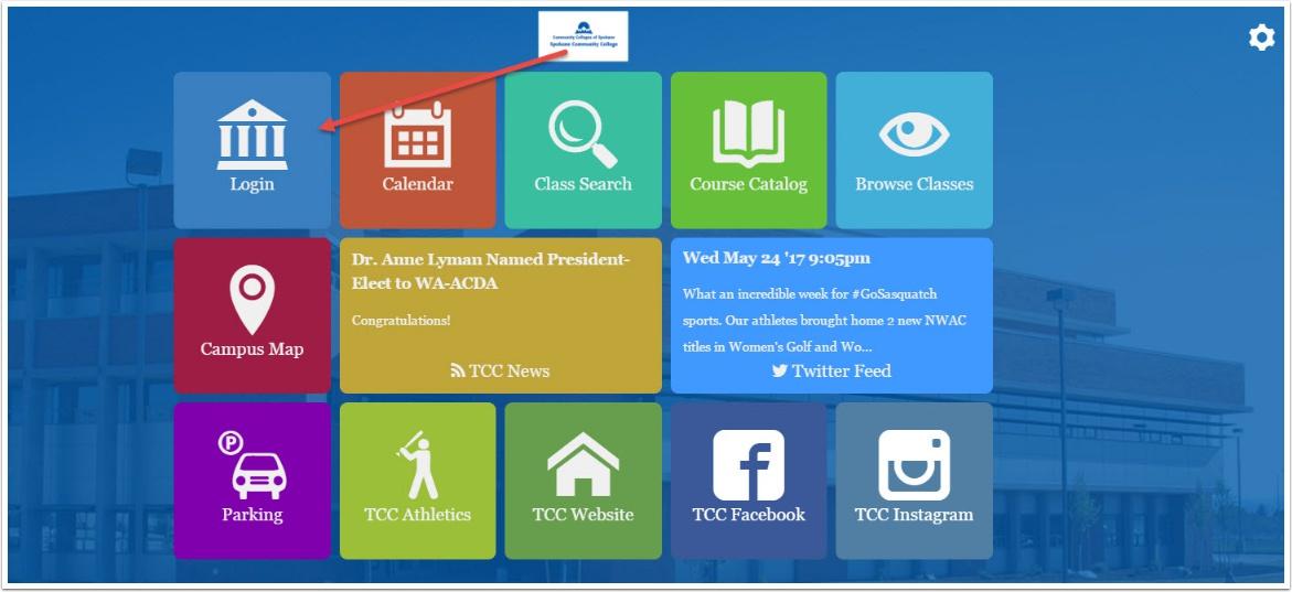 Mobile Application Tiles Home Screen