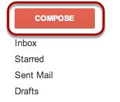 """Select """"Compose""""."""