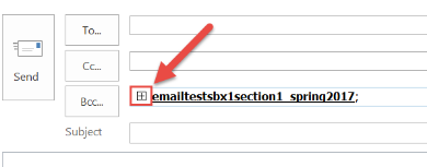 TIP FOR OUTLOOK USERS ONLY