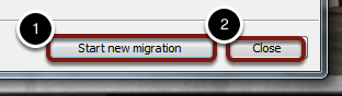 If you have more than one PST file, you will need to run the migration multiple times.