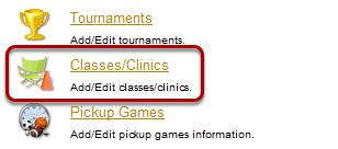Classes/Clinics