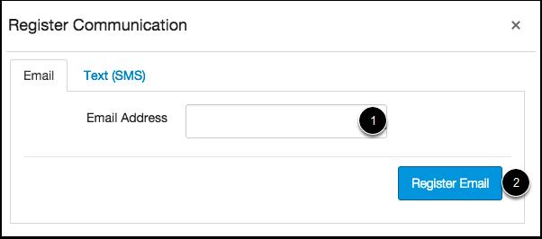 Registrar E-mail
