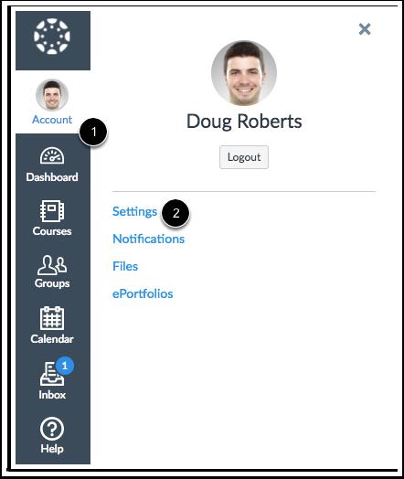 Abrir Configurações do Usuário