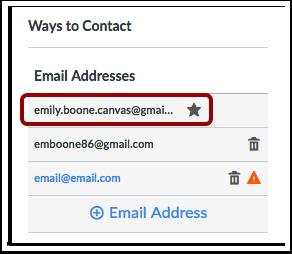 Visualizar Endereços de E-mail