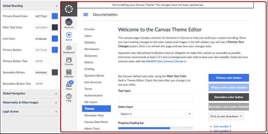 Vis Theme Editor