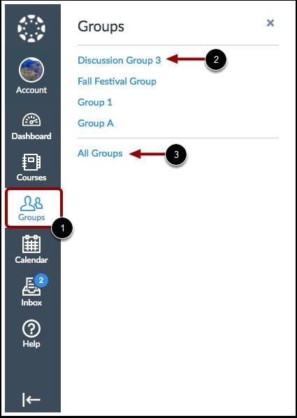 Vis grupper
