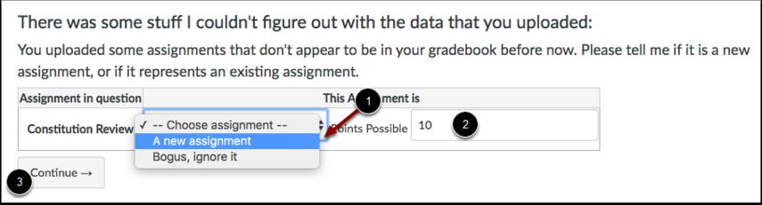 Last opp nye data