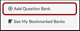 Legg til spørsmålsbank
