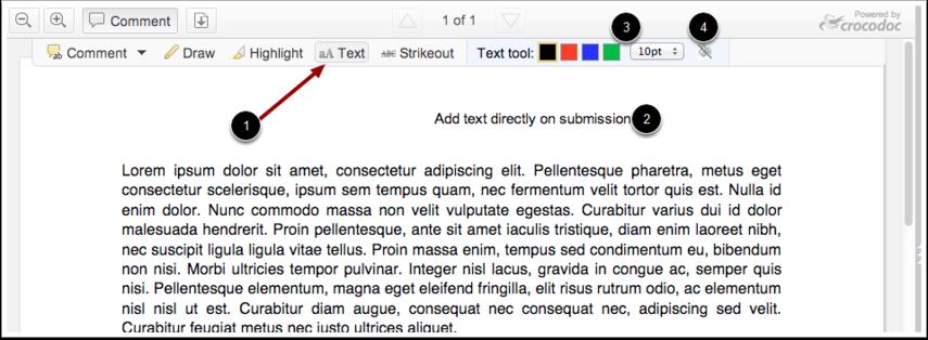 Bruk tekstverktøy