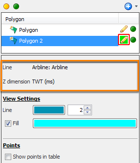 Pick polygon points in Arbline View