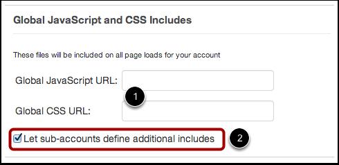 Agregar JavaScript y CSS global
