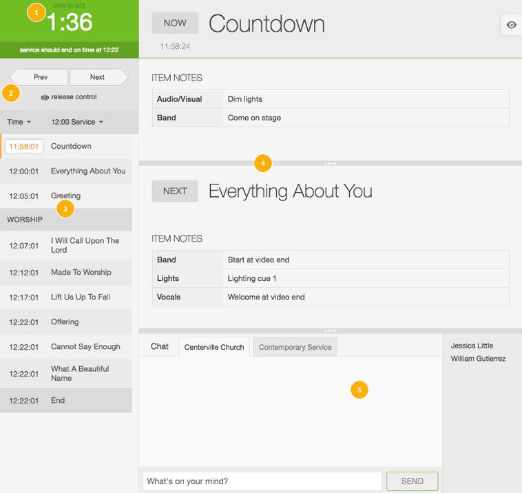 Full Live screen on desktop