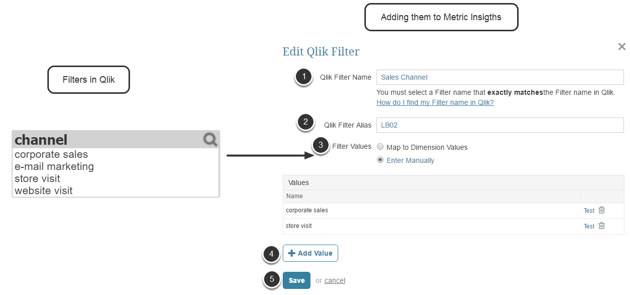 Pre Filtering Qlikview Data Connecting To Data Sources Help