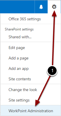 Configuring the Business module Site Collection settings