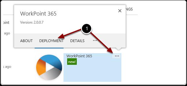 Automatic site deployment setup