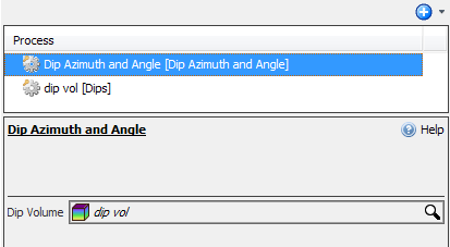 Dip Azimuth and Angle attribute