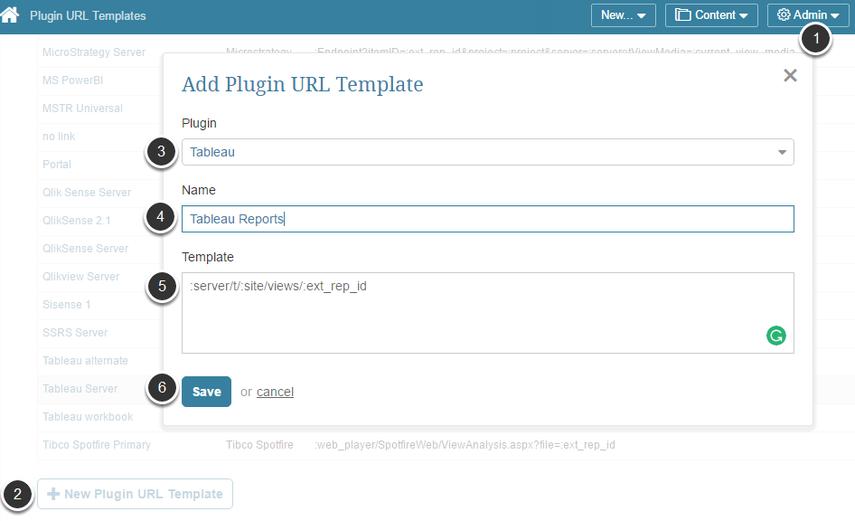 Create a new Plugin URL
